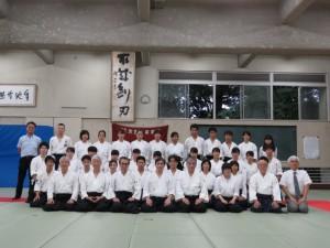 190713北野高校現役OBOG稽古会