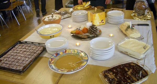 クリスマスパーティの楽しみ:手作りデザート