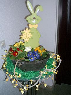 多産であるウサギも復活祭のシンボル