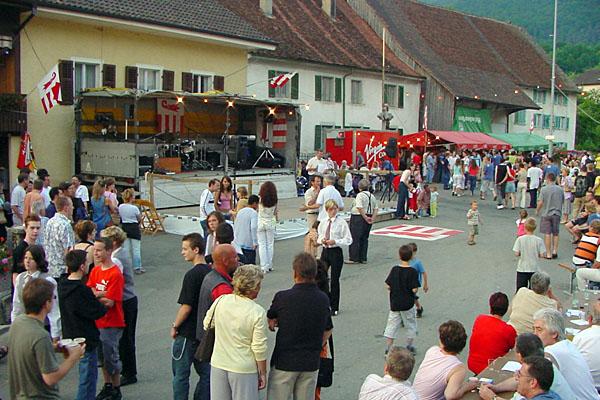 モンセヴェリエ村祭り